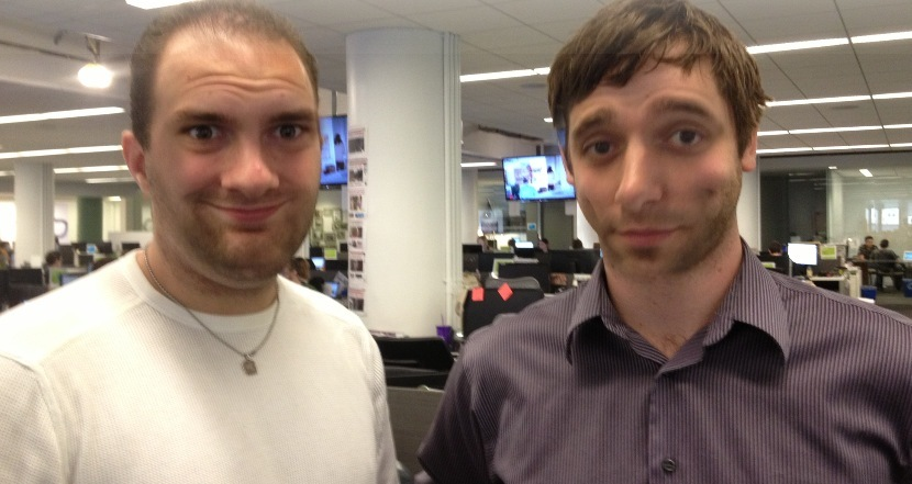 The HuffPost Crime and Weird News editors' facial hair matches up well -- in the most filthy way possible.