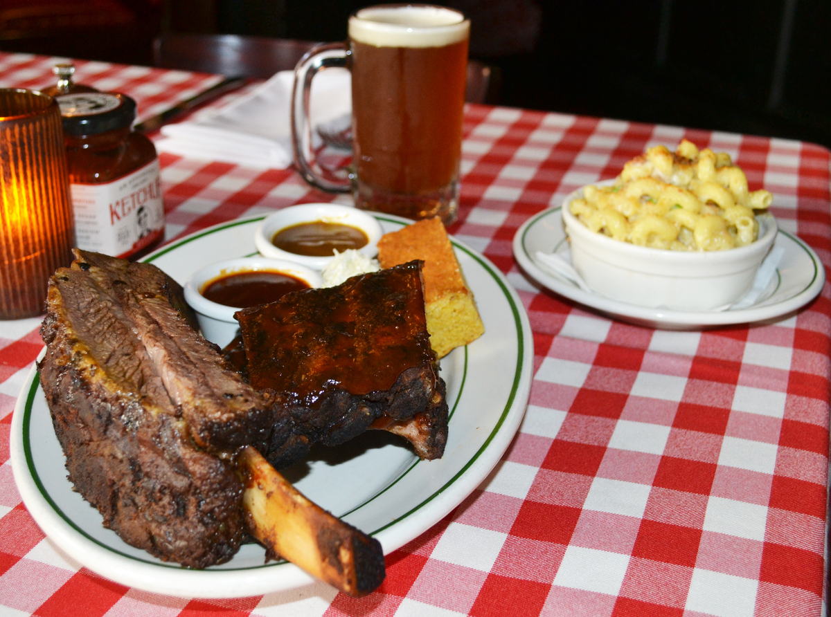 """<a href=""""http://www.pjclarkes.com/dc/"""" target=""""_blank"""">P.J. Clarke's</a> knows what Dad wants for brunch: meat (and lots of i"""