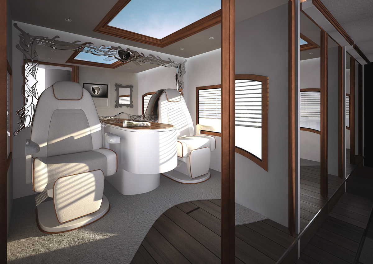The Worlds Most Expensive Motor Home Includes Rooftop Terrace Bar For 31 Million PHOTOS