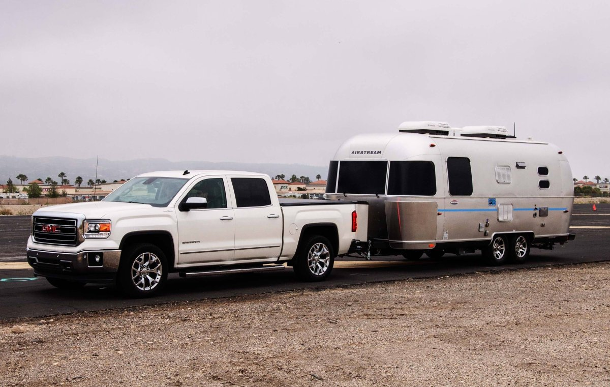 2014 GMC Sierra and Airstream take me away on my first Glamping adventure