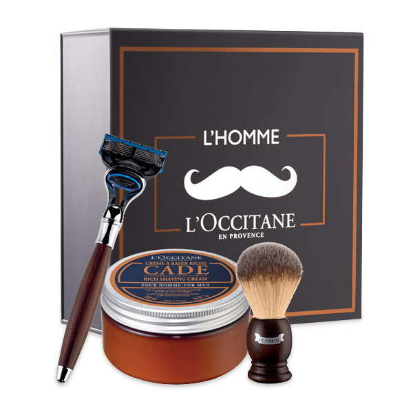 """This three-piece kit marries traditional barber techniques with modern technology for a close shave. $140, <a href=""""http://us"""