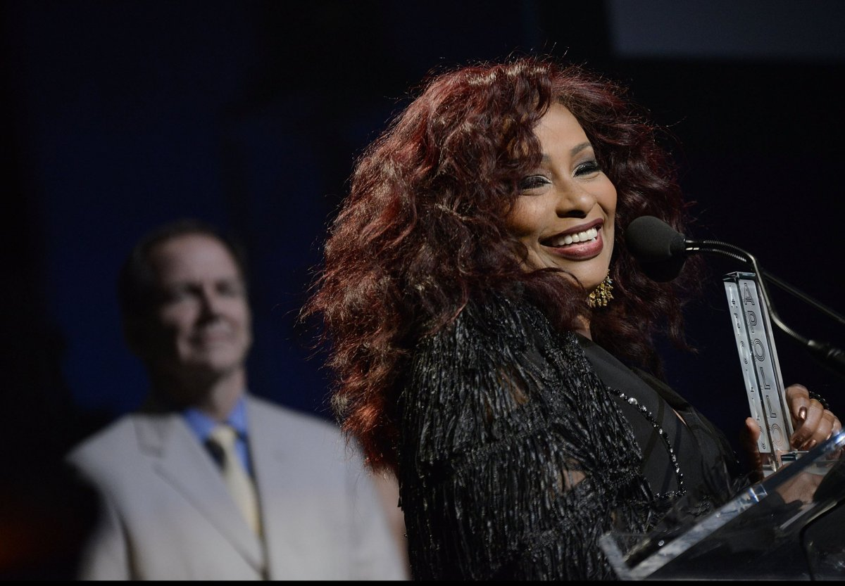 The legendary lady of funk and soul Chaka Kahn was inducted into the Apollo Legends Hall of Fame, Monday June 10, in celebrat