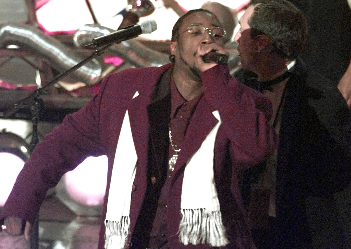 FILE - This Feb. 25, 1998 file photo shows O.D.B, Ol' Dirty Bastard of the Wu Tang Clan, whose legal name is Russell Jones, p
