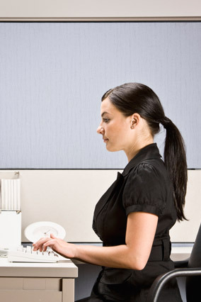 Sit up straight.   Research suggests that people with good posture have more confidence in their thoughts than slouchers.