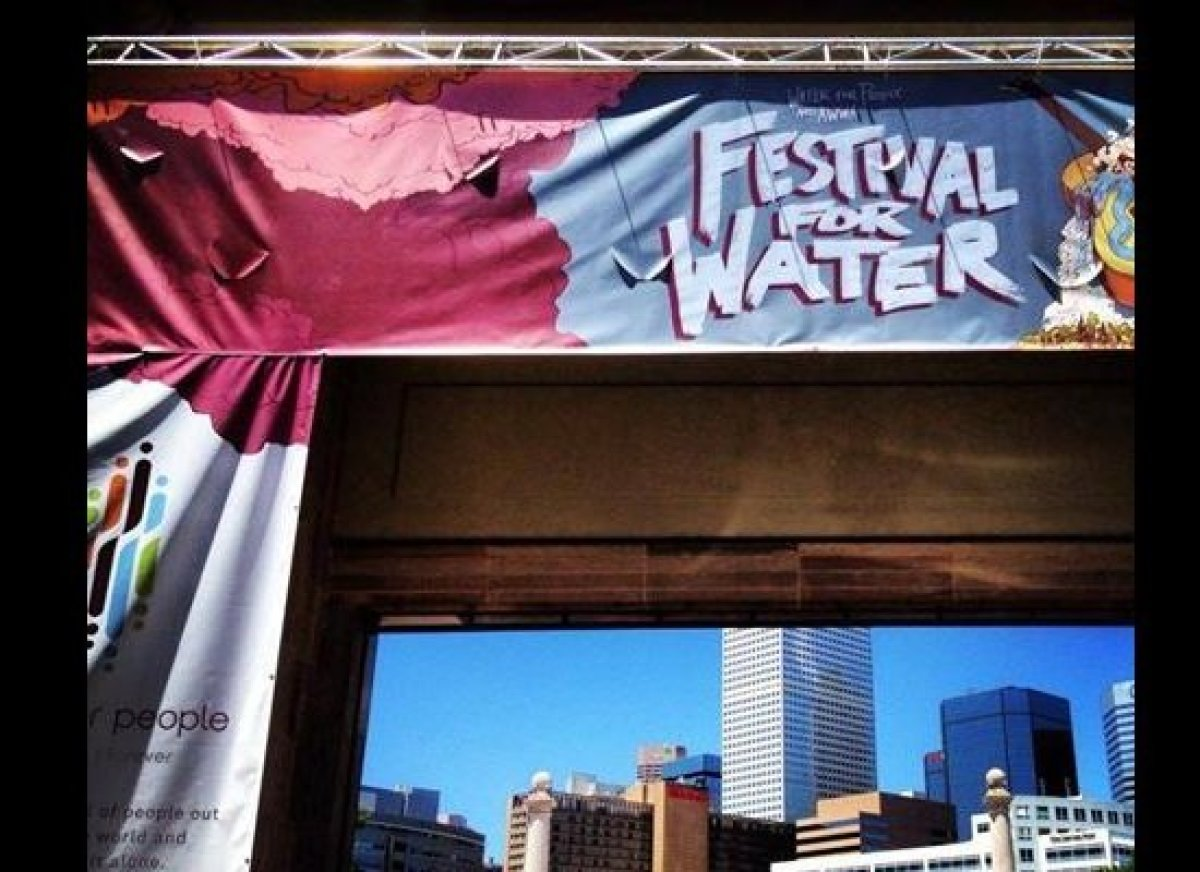 The Festival For Water held on June 9, 2013 in Denver.  Photo by:  Christian Nasche