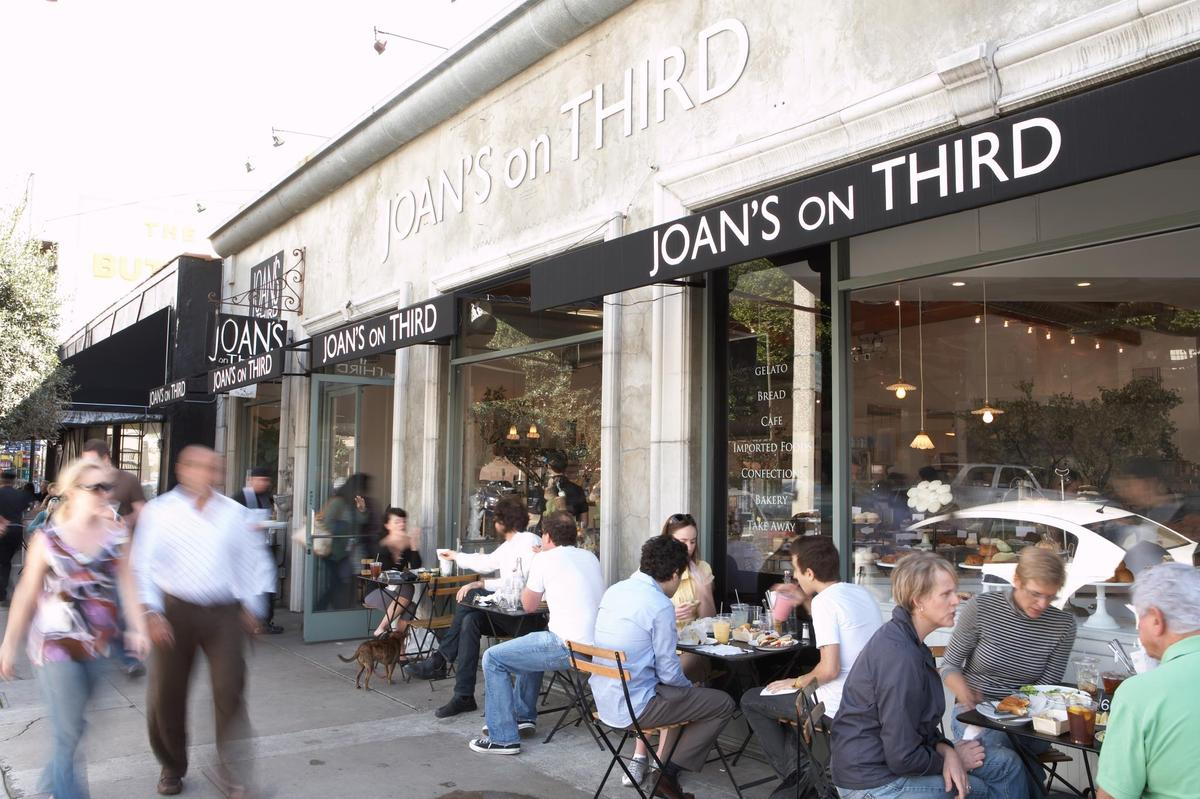 Cafés in Beverly Grove are where the cool kids and celebrities get their java. Joan's On Third attracts everyone from Oscar n