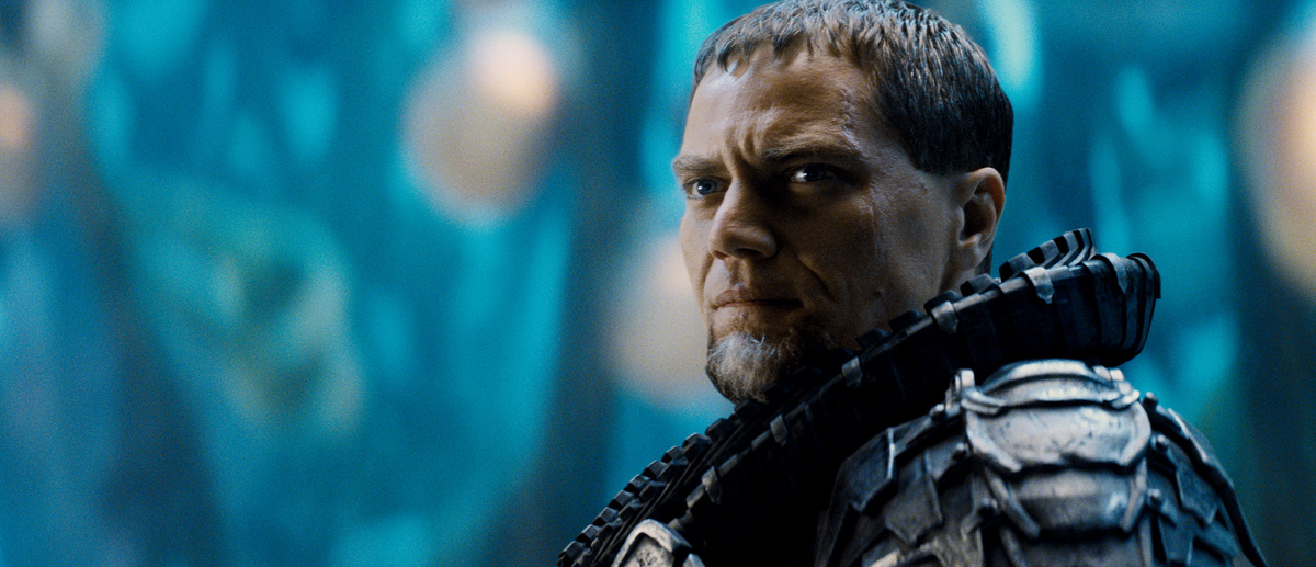 "This film publicity image released by Warner Bros. Pictures shows Michael Shannon as General Zod in ""Man of Steel."" (AP Photo"
