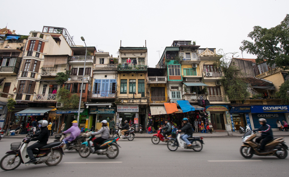 Busy and bustling, Hanoi and its old-city quarter are one-of-a-kind, where old and new are juxtaposed as classic French-colon