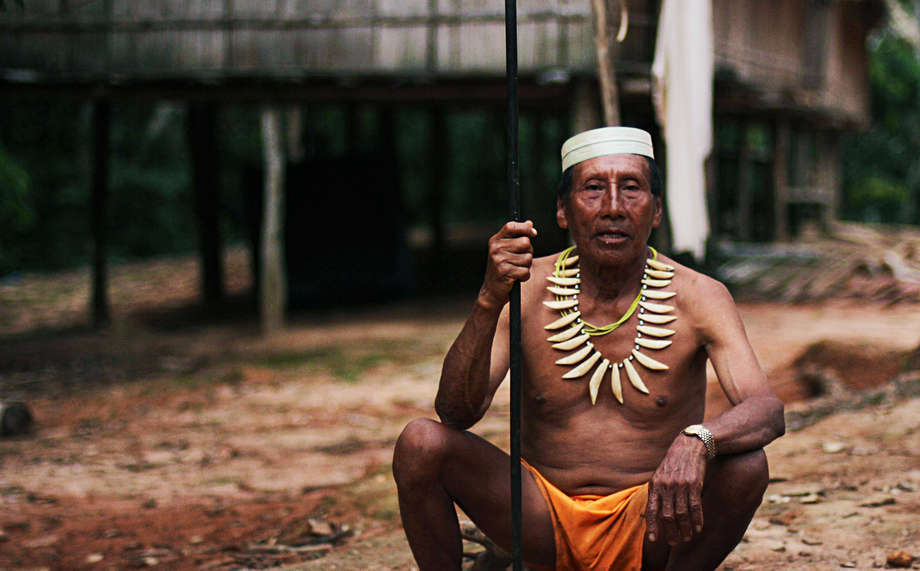 Salomon Dunu Uaqui Moconoqui, a Matsés grandfather and plant medicine expert, was one of the first among his people to be con
