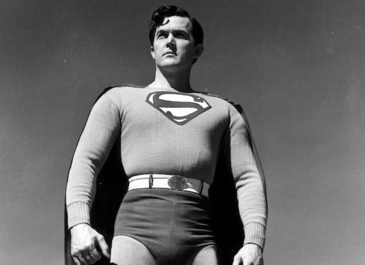 <strong><em>Superman</em> (1948) and <em>Atom Man Vs. Superman</em> (1950)</strong> Kirk Alyn was the first actor to play Sup