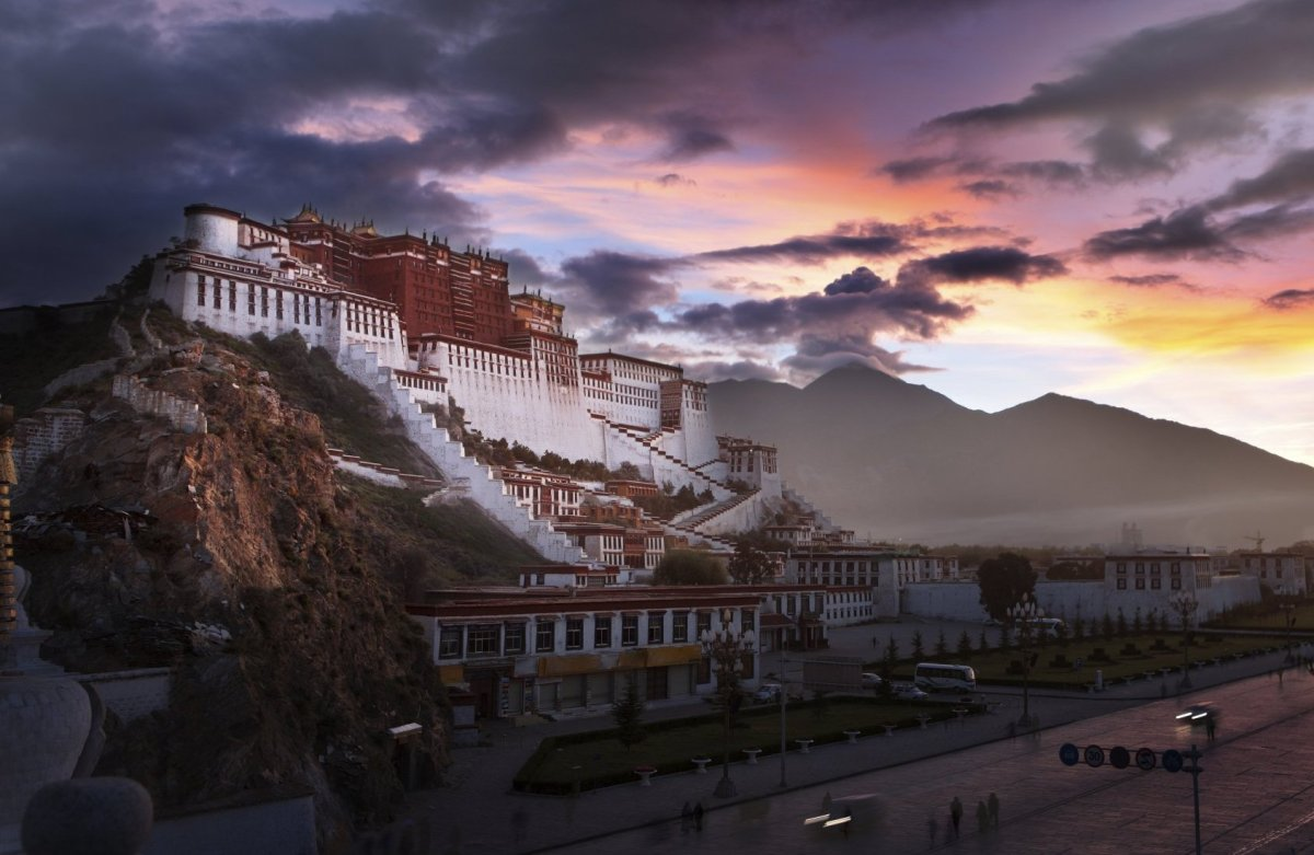 <strong>Lhasa, Tibet</strong><em>Seven Years in Tibet (2000)</em> Relive the classic scenes from <em>Seven Years in Tibet</em