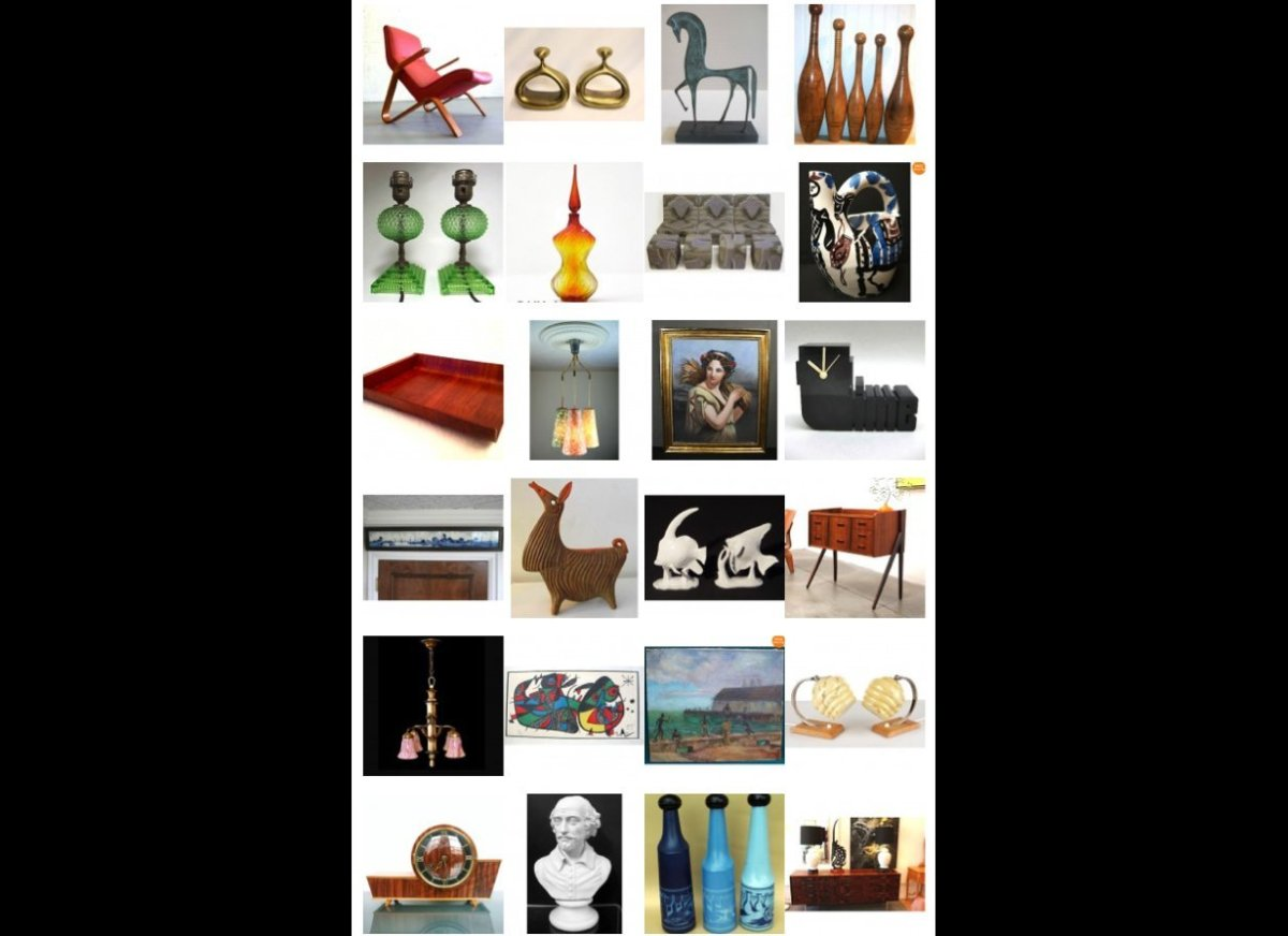"More information on all this week's finds at <a href=""http://zuburbia.com/blog/2013/06/16/ebay-roundup-of-vintage-home-finds-"