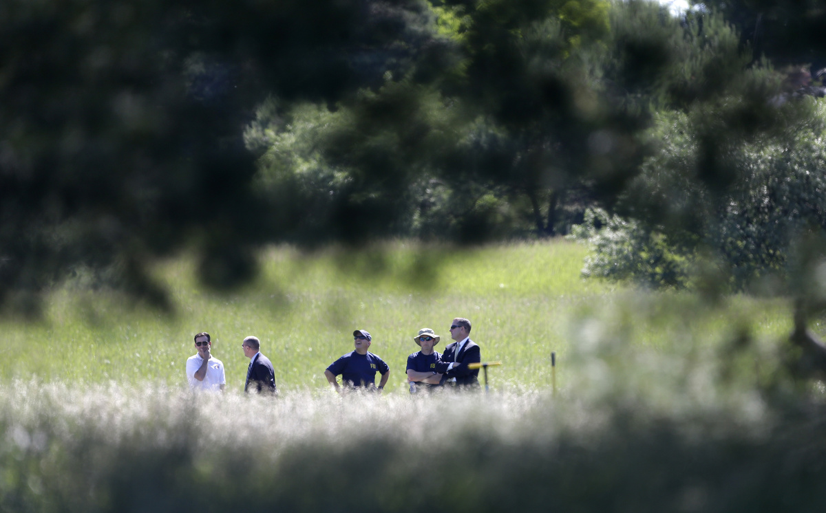 On June 17, 2013, investigators began searching an empty field in Oakland Township, Mich., for the remains of Jimmy Hoffa. Pi