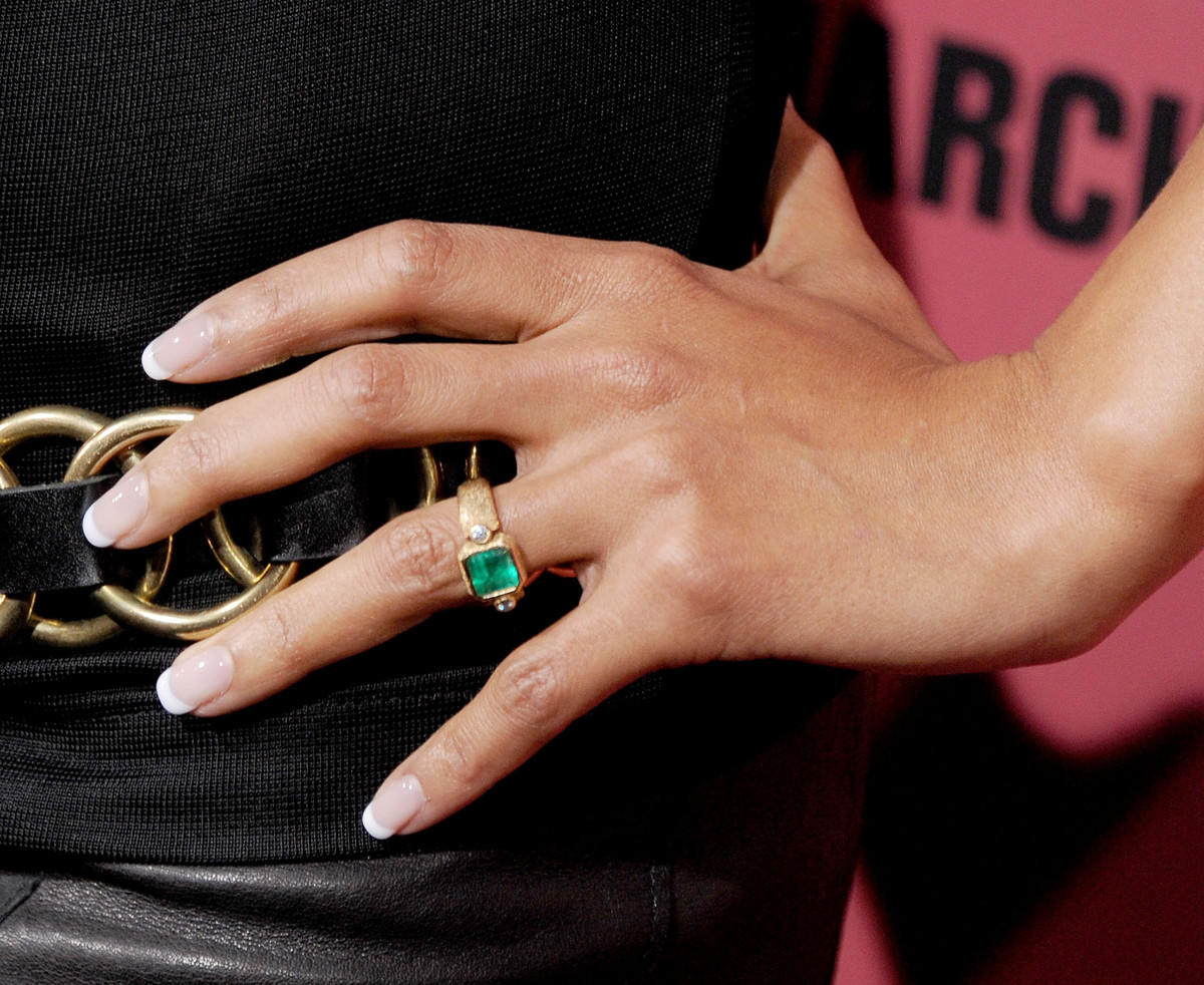 Best Offbeat Celebrity Engagement Rings Olivier Martinez A Href Http Www Huffingtonpost