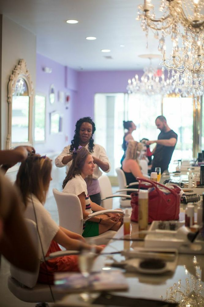 """Every girl is treated like a princess at <a href=""""http://www.blowoutbardc.com/"""" target=""""_blank"""">Blowout Bar DC</a>, where ses"""