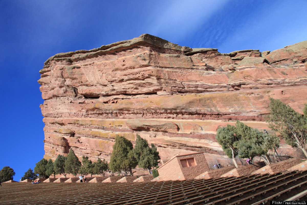 More than a mile high and forged by over 160 million years of shifting sands and sandstone, Red Rocks is an amphitheater like