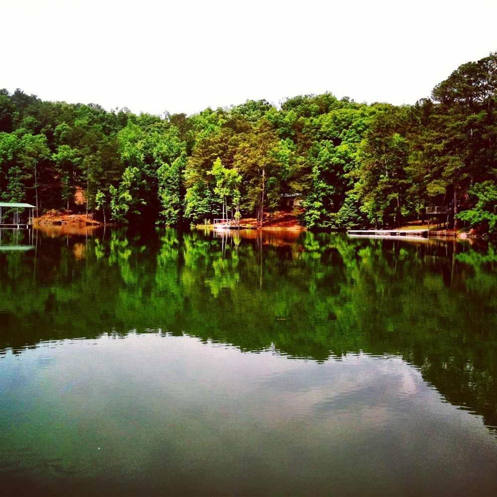 The lake has always been my escape to serenity. There are few things more calming and rejuvenating than sitting on a lake doc