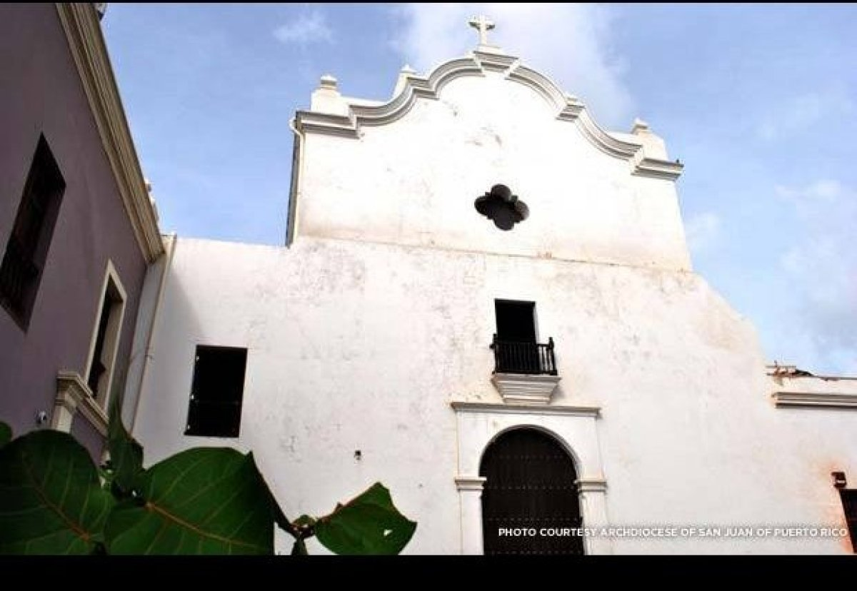 Old San Juan's San José Church was built in 1532, a century before the Mayflower settlers established the first permanent col