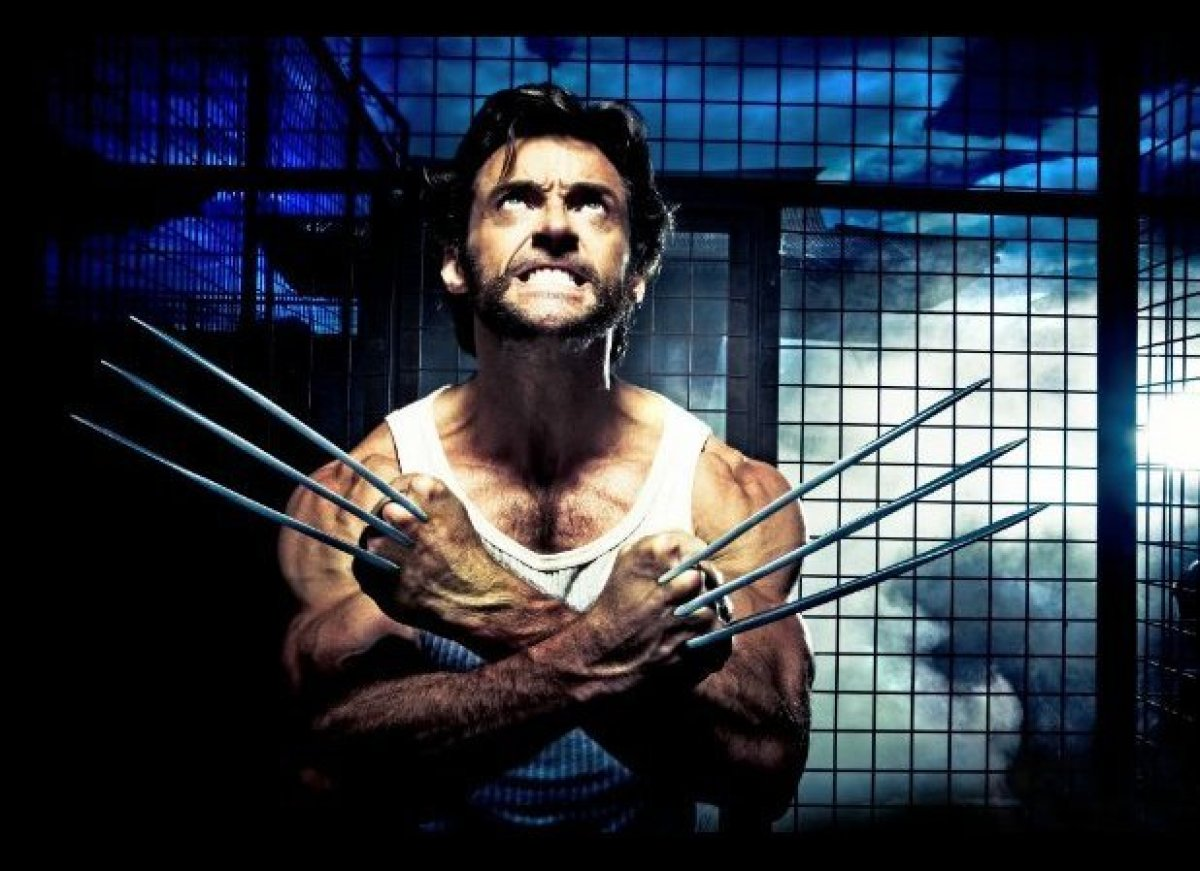 Although he appeared almost gaunt in <em>Les Miserables</em>, Hugh Jackman is best known for looking jacked as Wolverine in t