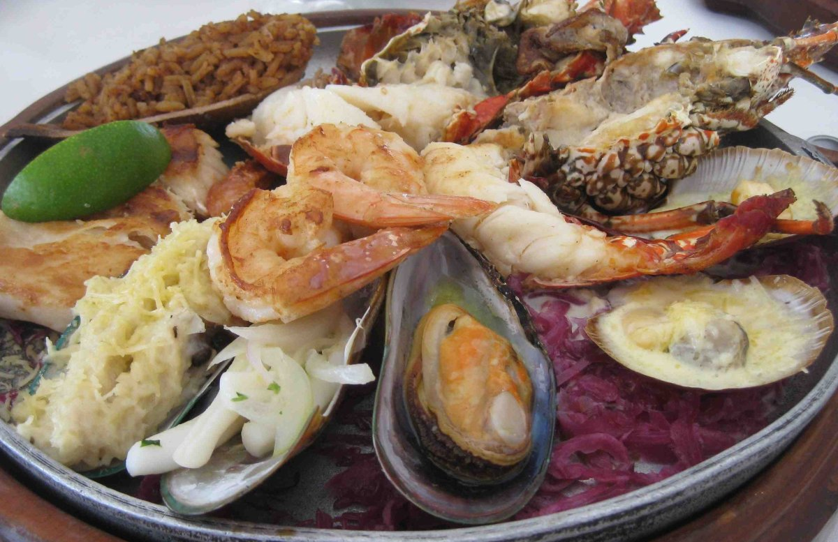 Seafood is just one of the delights Cartagena offers