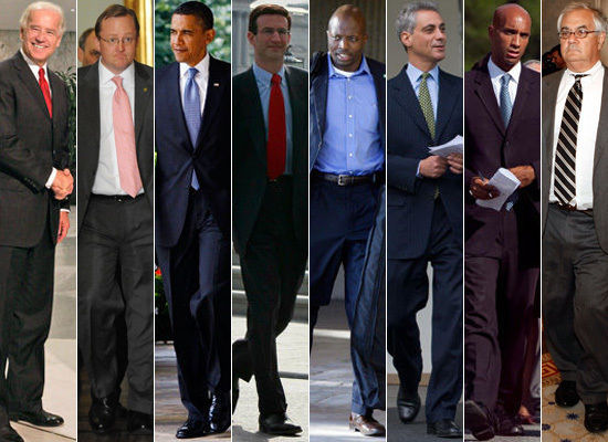 The women of Washington D.C. aren't the only ones in the style spotlight! The lawmaking men on the hill are also expected to