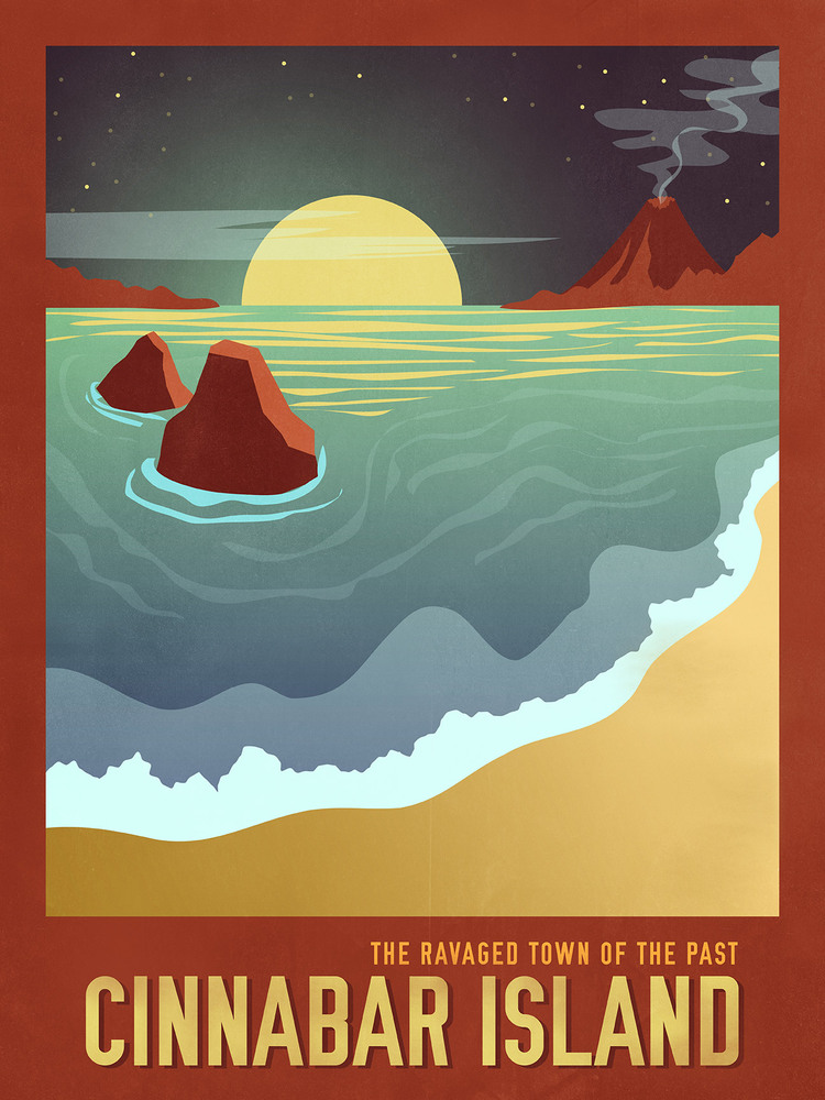 "Little Pixel Posters - <a href=""http://littlepxlposters.storenvy.com/"" target=""_blank"">Pokemon Travel Poster</a>"