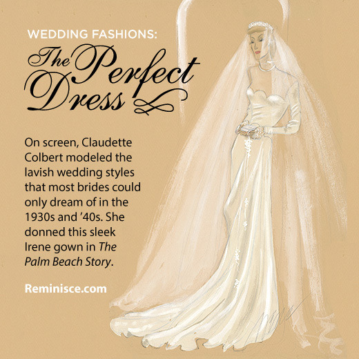 Wedding Dresses Through The Decades Long Sleeves And Lace Made A Comeback In 1940s Limited Resources During World War