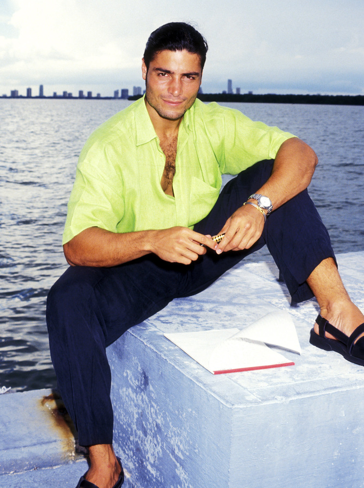 Singer Chayanne on August 9, 1994 sighting in Key Biscayne, Florida.