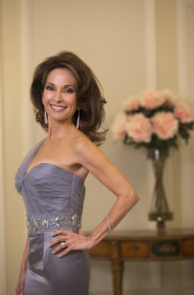 "Susan Lucci on Lifetime's nighttime soap, ""Devious Maids.""  Lucci plays Genevieve Delatour."