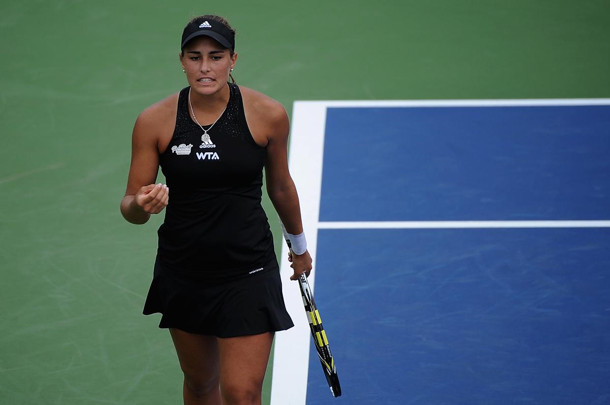 Mónica Puig, es de Puerto Rico, tiene 21 años y se encuentra firme dentro del Top 100 del ranking WTA