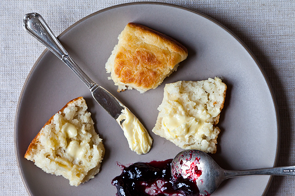 """<strong>Get <a href=""""http://food52.com/recipes/15432-shirley-corriher-s-touch-of-grace-biscuits"""" target=""""_blank"""">Shirley Corr"""