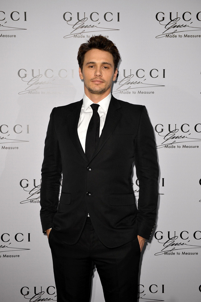 MILAN, ITALY - JUNE 24:  James Franco attends 'Gucci Made to Measure Launch' on June 24, 2013 in Milan, Italy.  (Photo by Tul