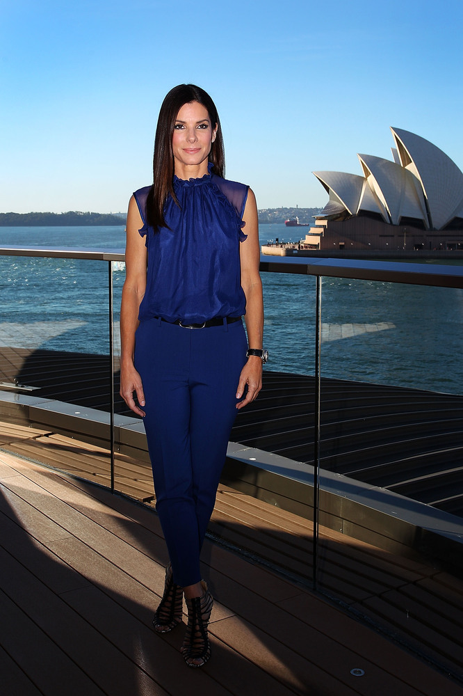 Sandra Bullock poses during the 'The Heat' photo call on July 2, 2013 in Sydney, Australia.  (Photo by Lisa Maree Williams/Ge