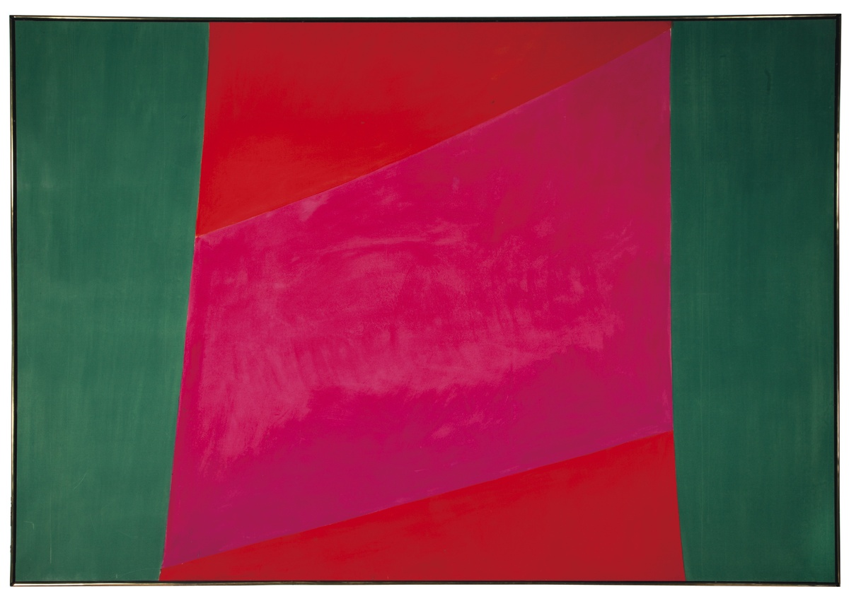 Andy Williams, An American Legend JACK HAMILTON BUSH	 Untitled (green, pink & red) Estimate: $30,000-50,000