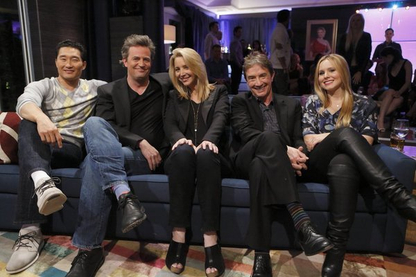 Daniel Dae Kim, Matthew Perry, Lisa Kudrow, Martin Short and Kristen Bell