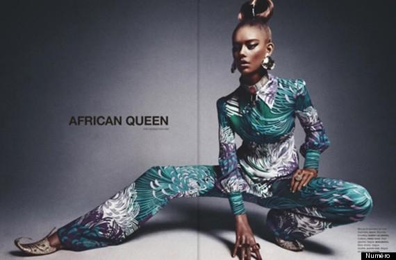 "<a href=""http://www.huffingtonpost.com/2013/02/25/numero-magazine-african-queen_n_2761374.html"" target=""_blank"">Numéro Magazi"