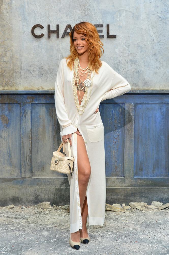 2 de julio. Para el desfile de la colección Otoño/Invierno 2013-2014 de la línea de Alta Costura de Chanel, en la Semana de l