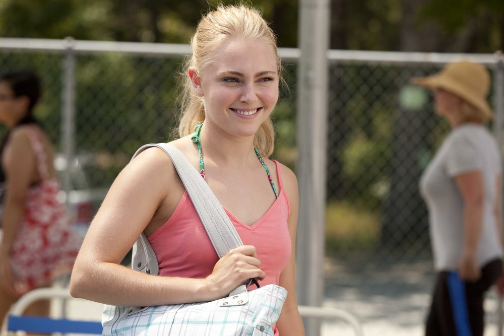 """This film publicity image released by Fox Searchlight shows AnnaSophia Robb in a scene from """"The Way Way Back."""" (AP Photo/Fox"""