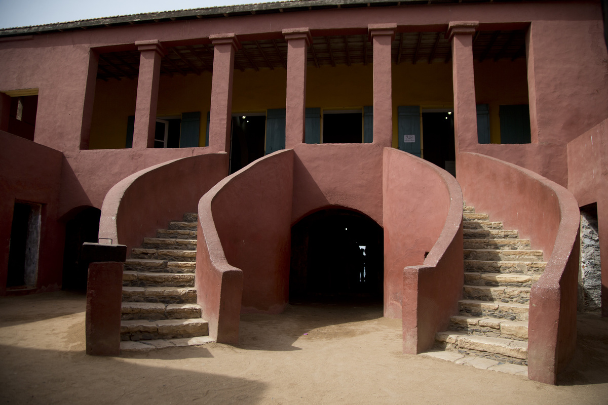 The House of Slaves is seen on Goree Island, Senegal, Wednesday, June 26, 2013, a museum and memorial to the Atlantic slave t