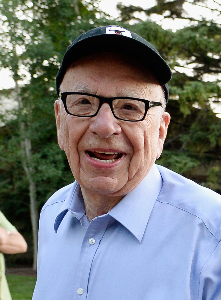 SUN VALLEY, ID - JULY 10:  Media mogul Rupert Murdoch executive chairman of News Corporation and chairman and CEO of 21st Cen