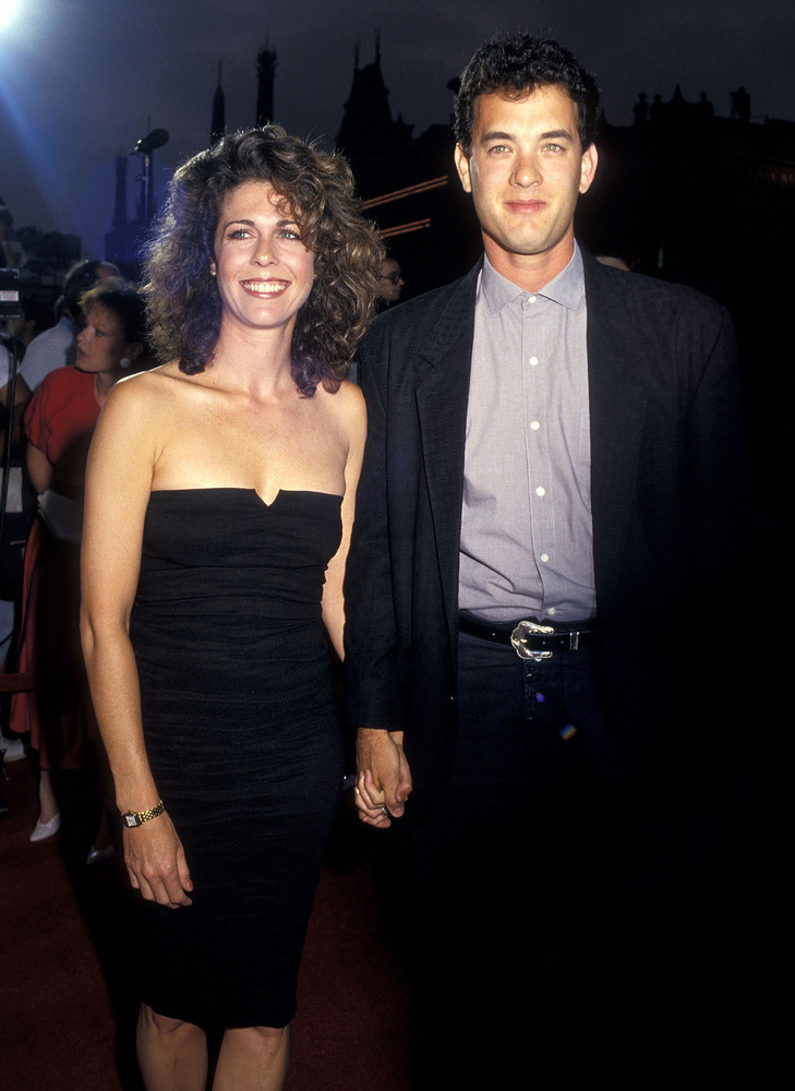 Tom Hanks & Rita Wilson, 1987