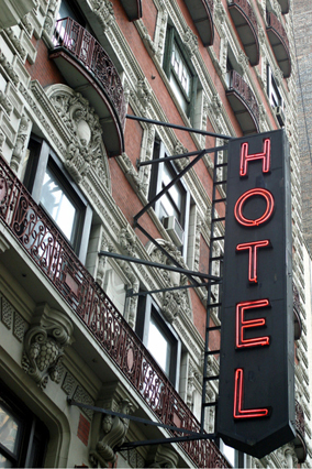 In many cities, business travel drives hotel prices on certain days of the week. In New York City's Financial District, hotel