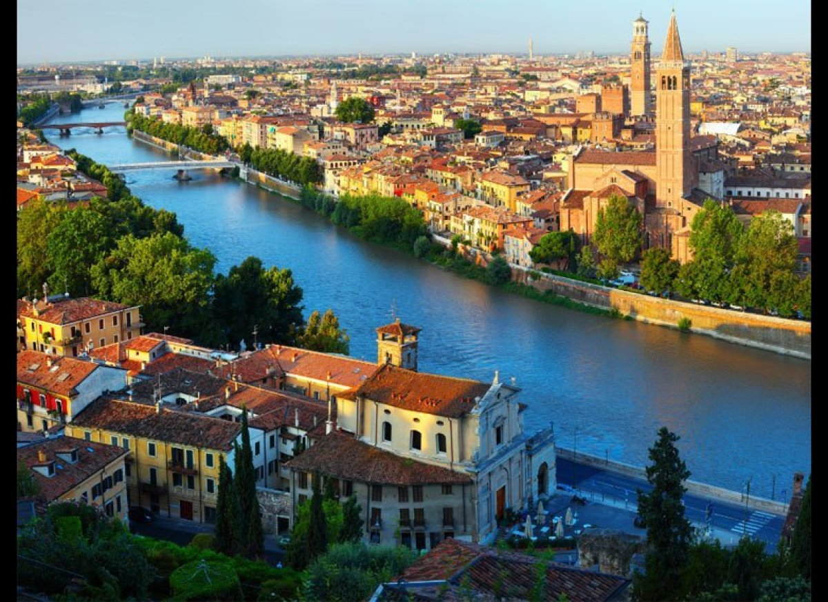 One of the most famous love stories of all time is still very much celebrated in Verona. Although Romeo and Juliet's apologue