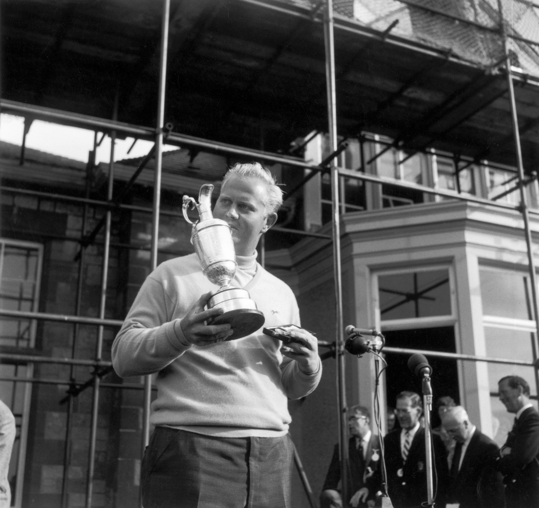 Jack Nicklaus was stopped short of a calendar Grand Slam at Muirfield in 1972. Not to be overlooked was his first British Ope