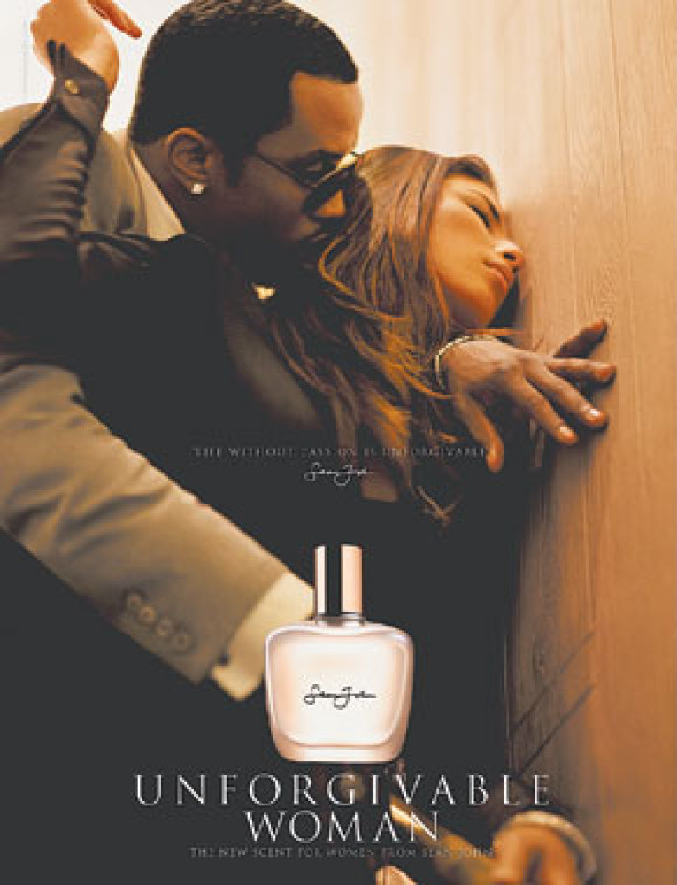 Sean John's Unforgivable Woman fragrance.