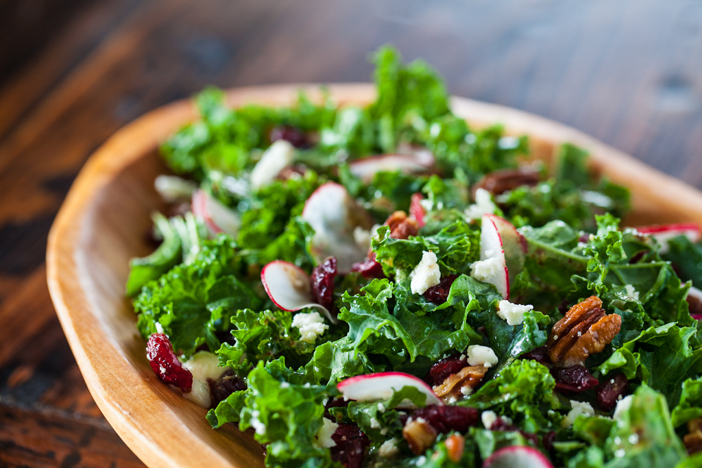 "<strong>Get the <a href=""http://www.steamykitchen.com/24357-kale-salad-with-cherries-and-pecan-recipe.html"" target=""_blank"">K"