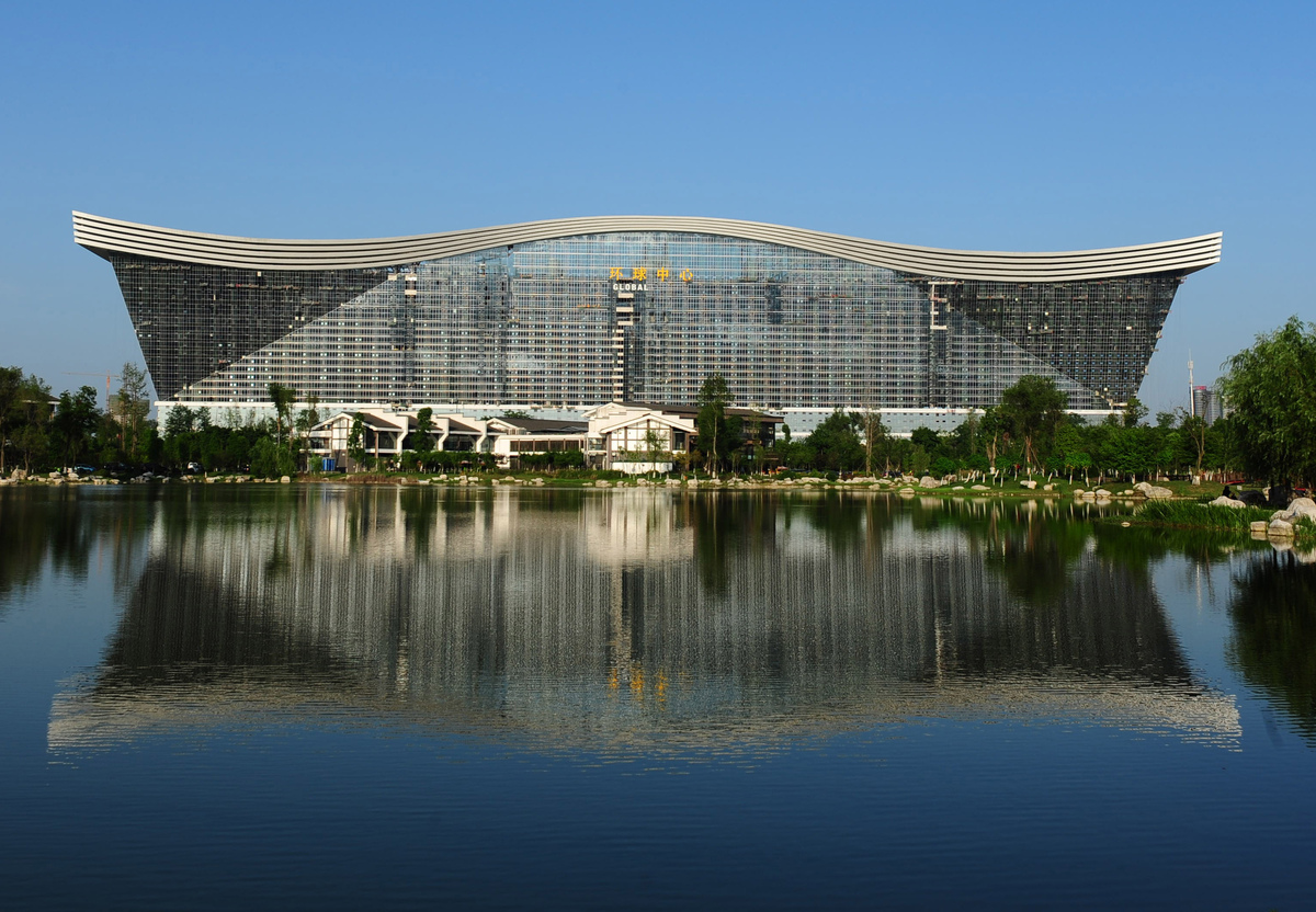 Almost Paradise: In China, The Largest Building in the ...