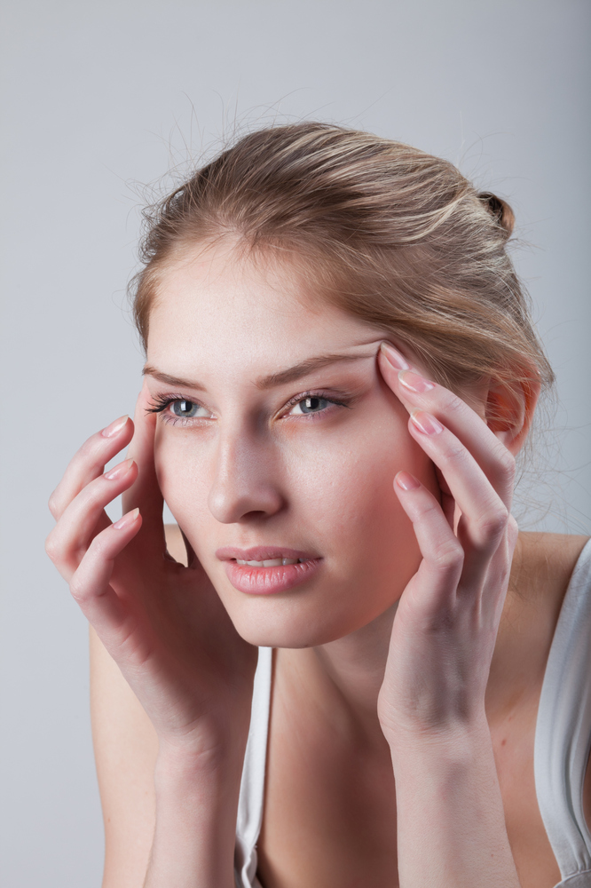 """As your vision worsens with age, other muscles around the eye pitch in to help you focus, says <a href=""""http://www.skincaredo"""