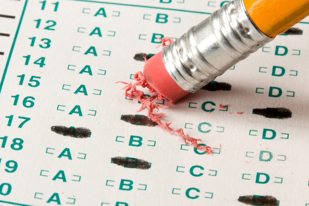 When in doubt, three out of every four of us think back to our days of multiple-choice tests and go with the <i>first</i> opt