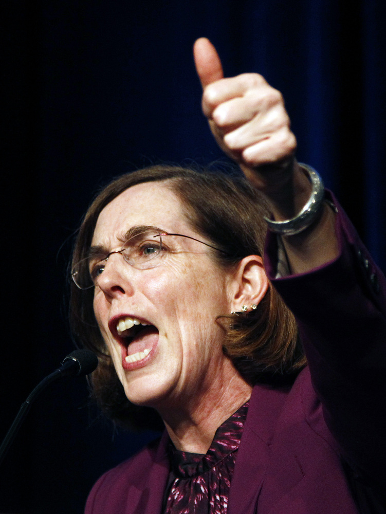Governor of Oregon (2015-present) First openly bisexual governor  <strong>Other offices:</strong> Oregon Secretary of State f